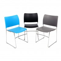 Dusk High Density Stacking Chair