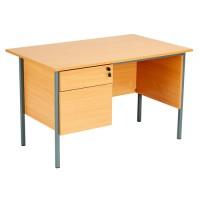 Eco 18 Rectangular Pedestal Desk