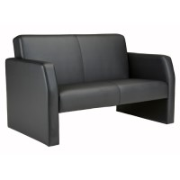 Face Leather Reception Sofa