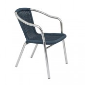 Plaza Wicker Cafe Chairs