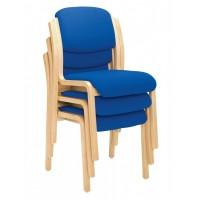 Renoir Wooden Upholstered Side Chair