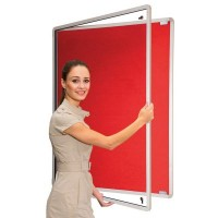Lockable Glazed Tamperproof Noticeboards