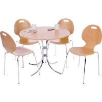 Cafe Bistro Chair and Table Set