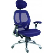 Cobham Luxury Mesh Chair with Headrest