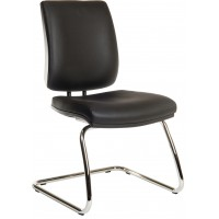Ergo Deluxe Faux Leather Visitor Chair