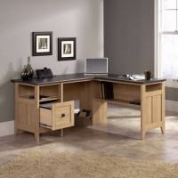 Home Office Executive Crescent Desk