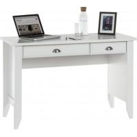 Soft White Laptop Desk