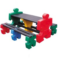 Jigsaw Childrens Picnic Table Set