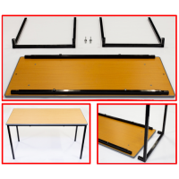 Self Assembly Cast PU Edge Tables