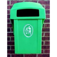 Wall Mounted Bin - 15 Colour Options