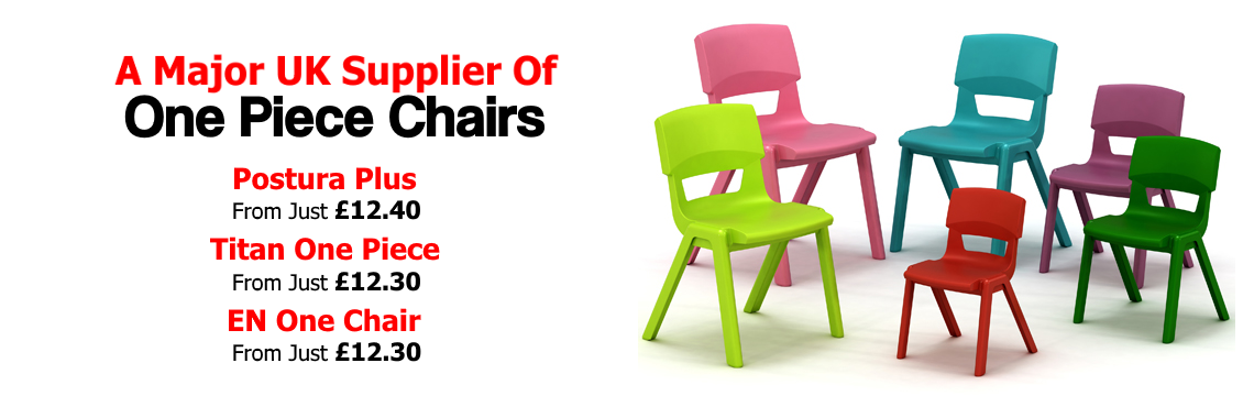 Postura Plus Chairs, Titan One Piece Chairs, EN One Chairs