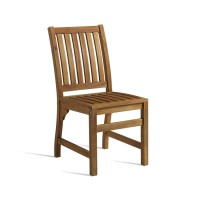 Acacia Wood Outdoor Dining Chair