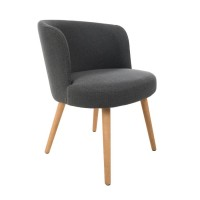 Antonio Grey Contemporary Tub Chair