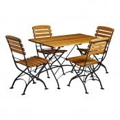 Arch Rectangular Outdoor Dining Set