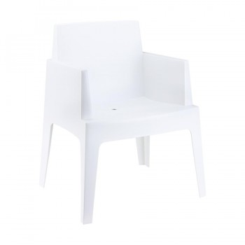 Box Polypropylene Arm Chair