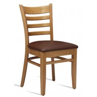 Plus Upholstered Wooden Dining Chair