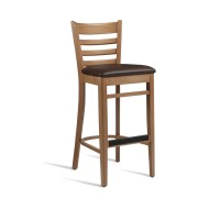 PLUS Wooden Barstool