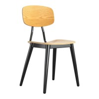 Ply Oak Contemporary Side Chair
