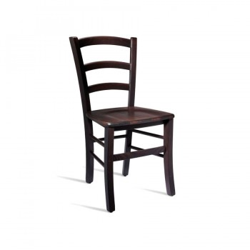 Rosso Italian Wooden Side Chair