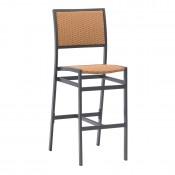 Sun Wicker Outdoor Barstool