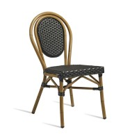 Time Wicker Outdoor Side Chair